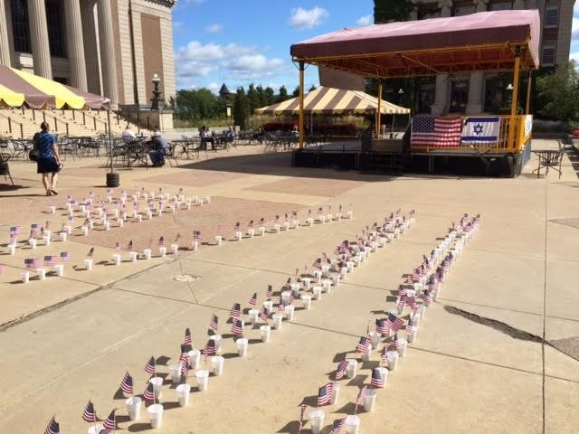 Students Supporting Israel Holds Third Annual September 11 Memorial