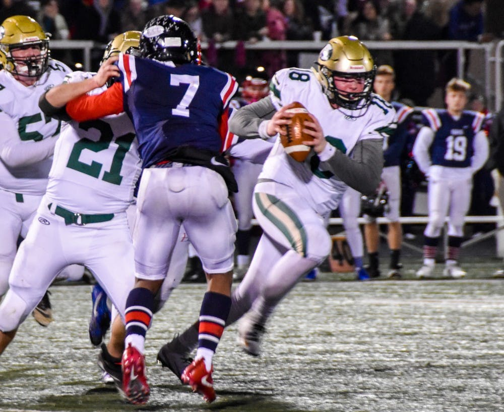 Athens Football: Athens' storybook season comes to an end at the hands of Bishop Hartley