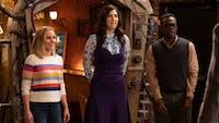 Thursday's episode of 'The Good Place' marked the season three midseason finale. (Photo via @TheAVClub on Twitter)
