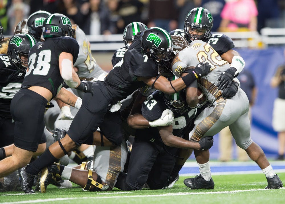 Football: Despite late comeback, Ohio falls 29-23 to No. 17 Western Michigan in MAC Championship Game