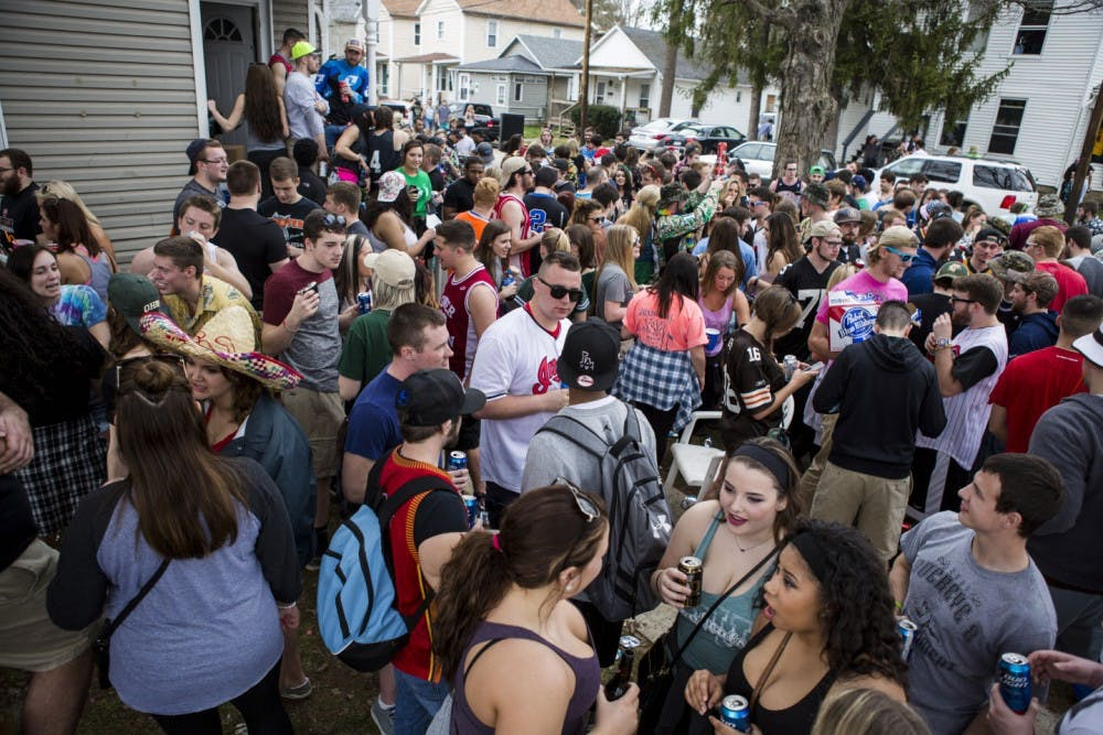 Fewer arrests at this year's 'nuts' Mill Fest