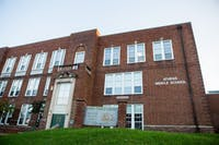 Athens Middle School stands at 55 West State Street in Athens, Ohio.