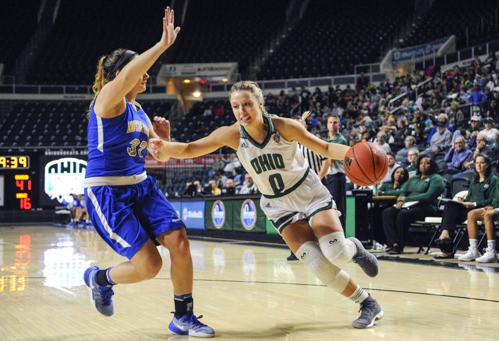 Women's Basketball: Ohio surrenders big fourth quarter run, loses at Toledo