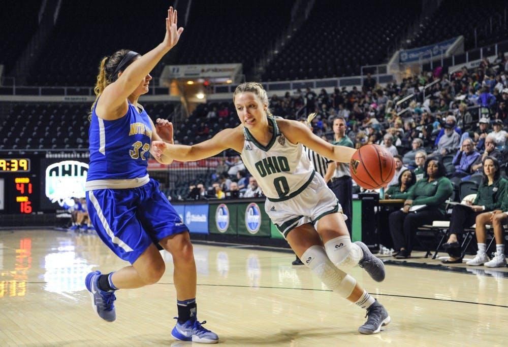 Women's Basketball: Ohio surrenders big fourth quarter run, loses at Toledo