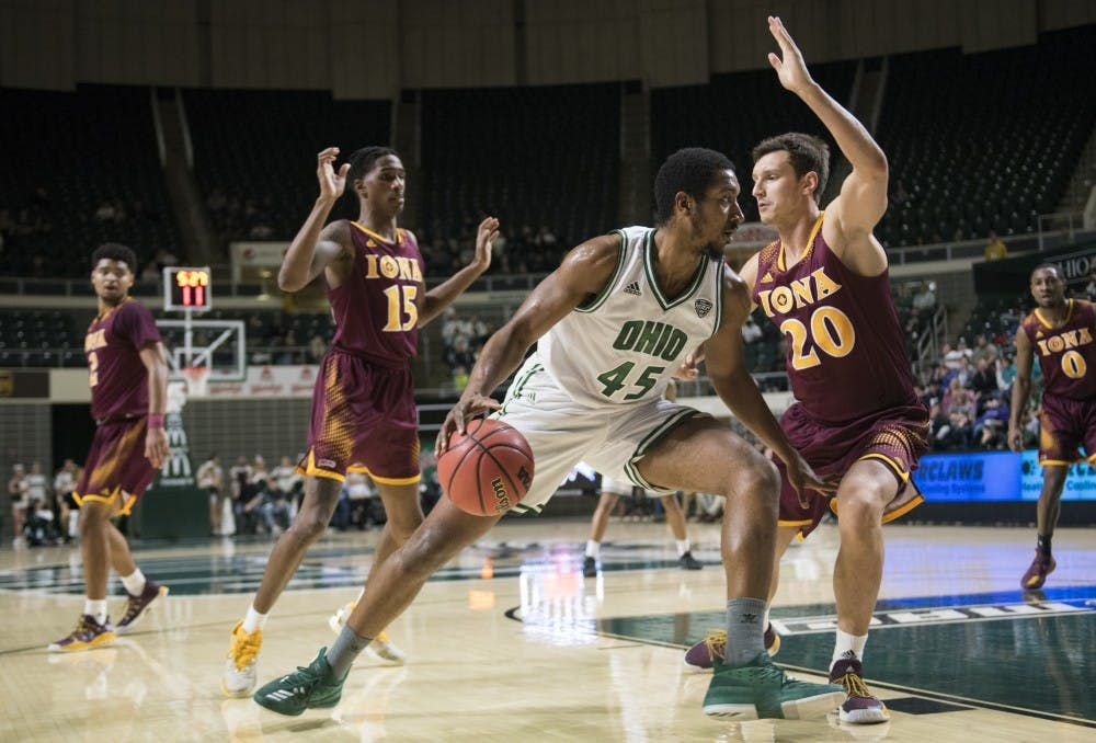 Men's Basketball: Size an issue for Ohio in 87-62 loss at Maryland