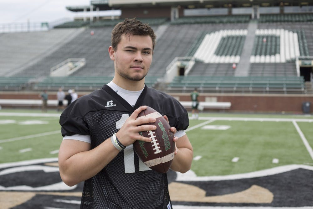 Football: The twists and turns of Nathan Rourke's journey