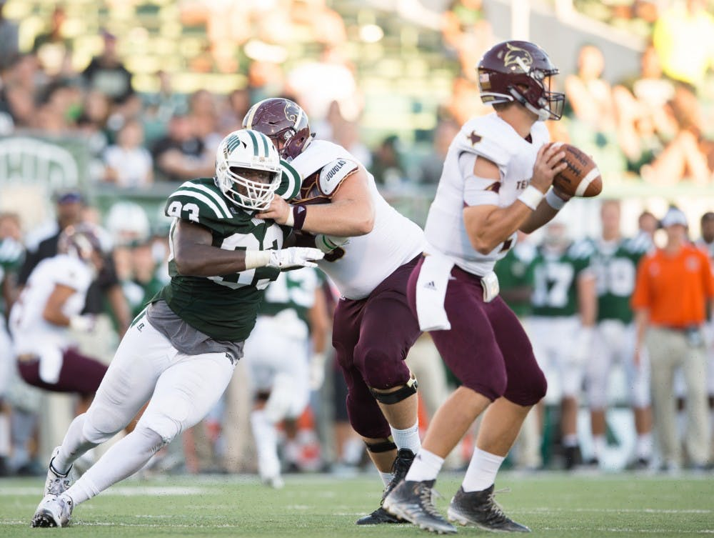 Football: Basham is now the Ohio sack king