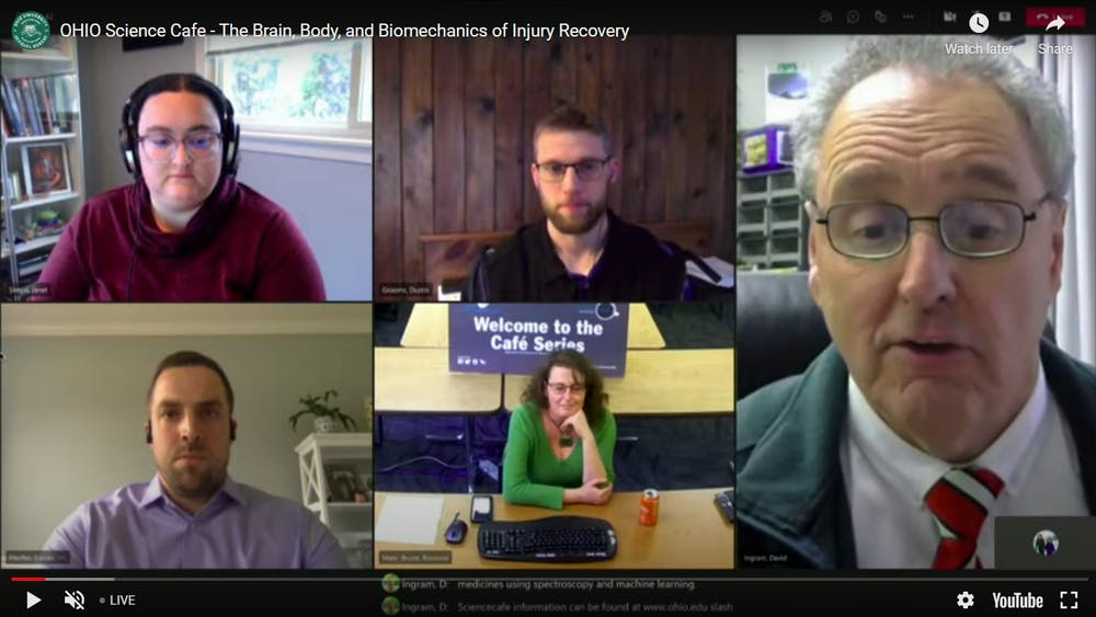 Science Cafe hosted 'The Brain, Body, and Biomechanics of Injury Recovery' conversation