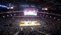 Quicken Loans Arena in Cleveland where the Cavaliers play. (photo via Wikimedia Commons user Erik Drost)