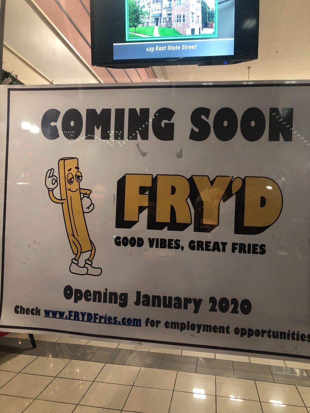 Fry'd Fries to open in Athens in January 2020
