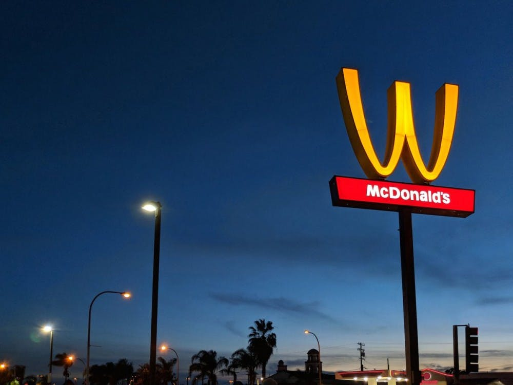 McDonald's flips its golden arches upside down for International Women's Day