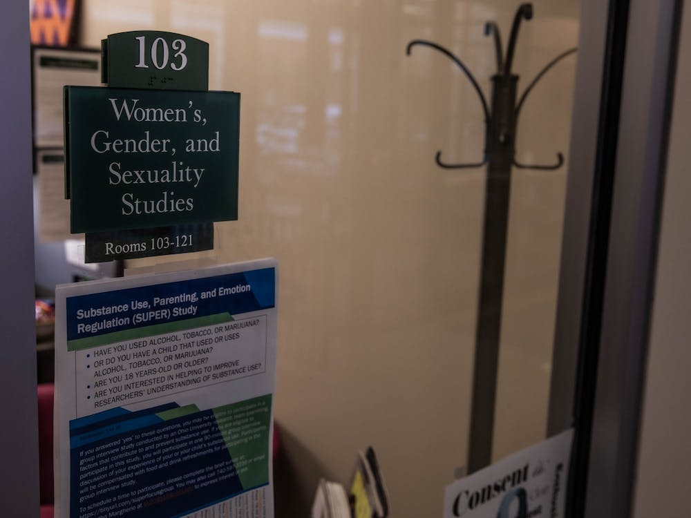The Women's, Gender, and Sexuality Studies office in Court St.