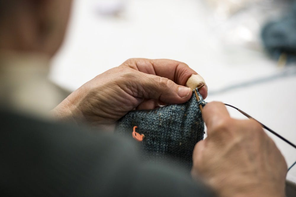 Knitters use technology to foster creativity and learn the craft