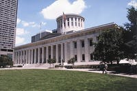 The Ohio Statehouse. (Photo via ohiostatehouse.org)