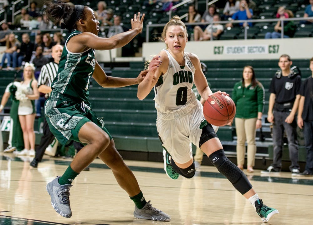 Women's Basketball: Bobcats use man defense with zone principles, hold Eagles to 51 points