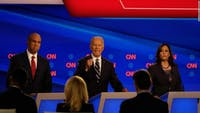 Night two of the second round of Democratic Primary Debates provided more infighting from the candidates. (Photo via @CNN on Twitter)