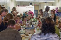 Community dinners are held each Thursday at 6:30 p.m. (Provided via Lori Crook)