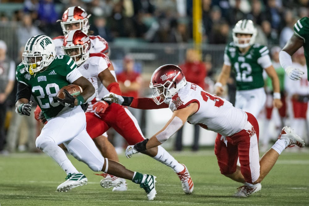 Football: Fast reactions from Ohio's 24-21 loss to Miami