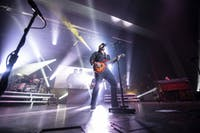 Lee Brice performs at Templeton-Blackburn Alumni Memorial Auditorium on Thursday in Athens, Ohio.