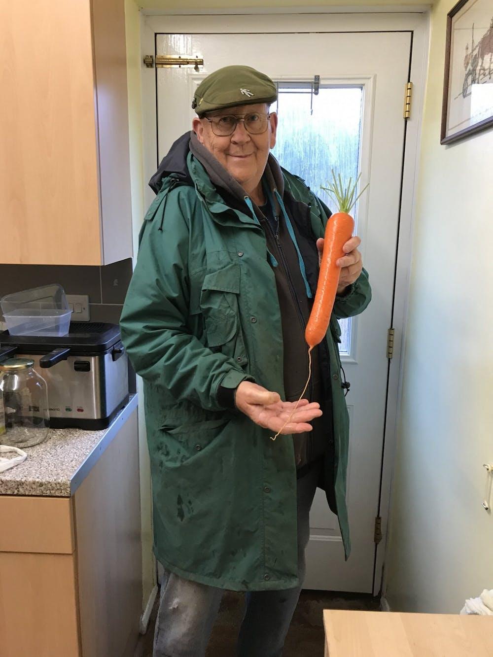 Q&A: Pandemic Twitter icon Gerald Stratford talks big veg