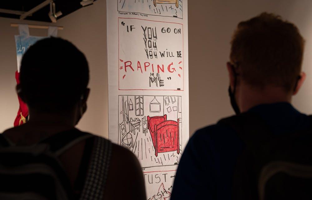 Survivor-centered art exhibit raises awareness through dismantling stigmas