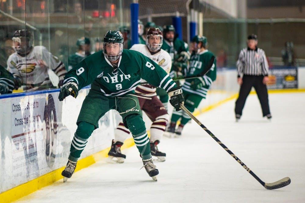 Hockey: Heakins' return fuels Ohio's win over Robert Morris-Illinois