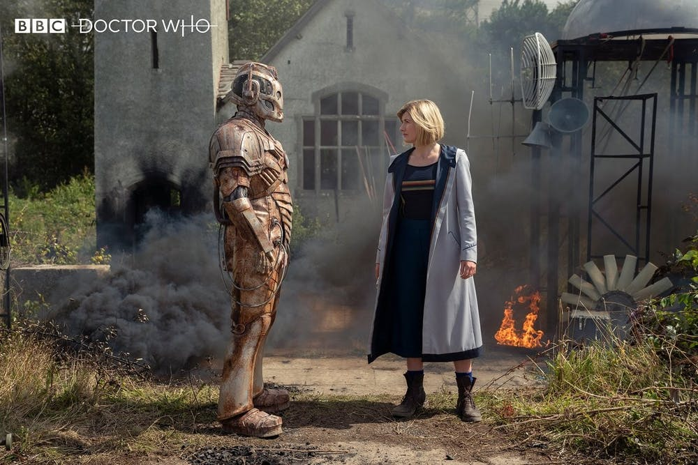 TV Review: 'Doctor Who' keeps tensions high in the first half of its series finale