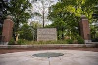 Class gateway on Ohio University's campus.