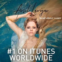 "Avril Lavigne released an emotional track titled ""Head Above Water."" (via @avrillavigne on Instagram)"