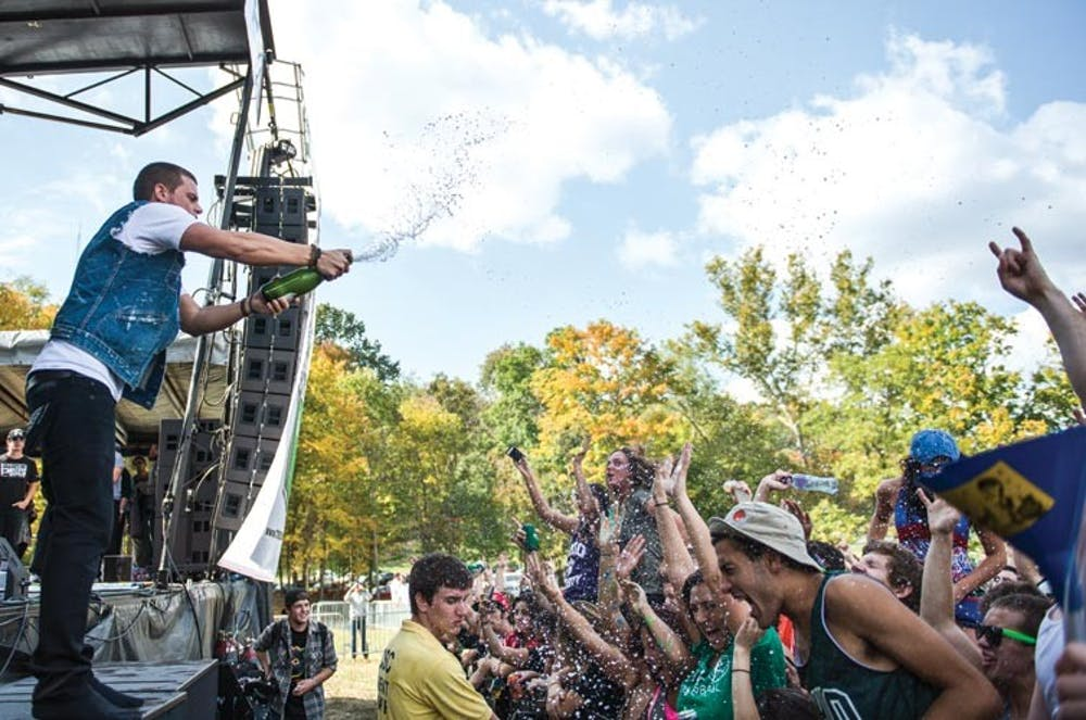 Leave the booze at home: 14Fest nixed its BYOB policy