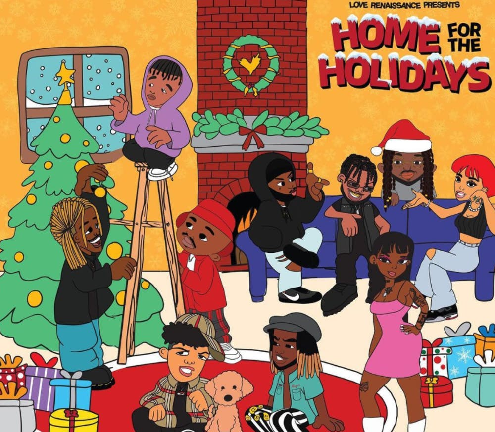 Album Review: LVRN is in the Christmas spirit on 'Home For The Holidays'