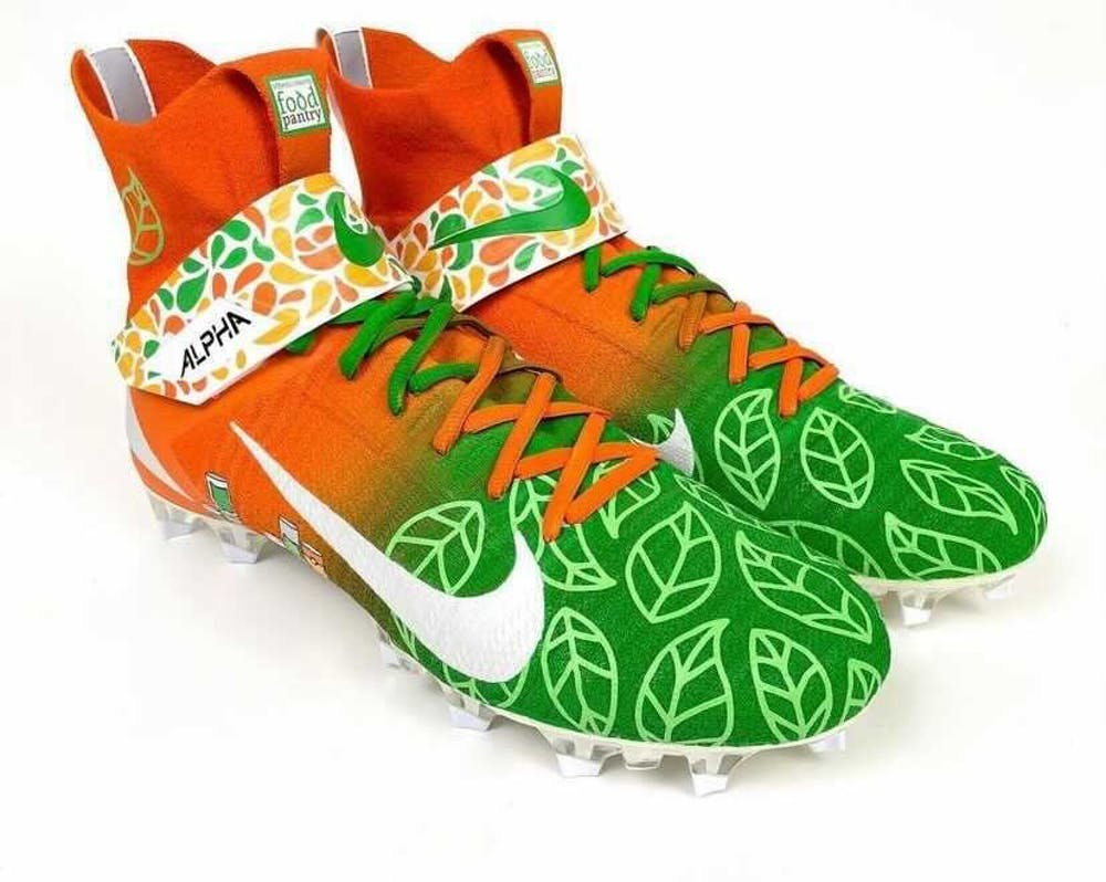 Joe Burrow auctions signed cleats to benefit Athens County Food Pantry