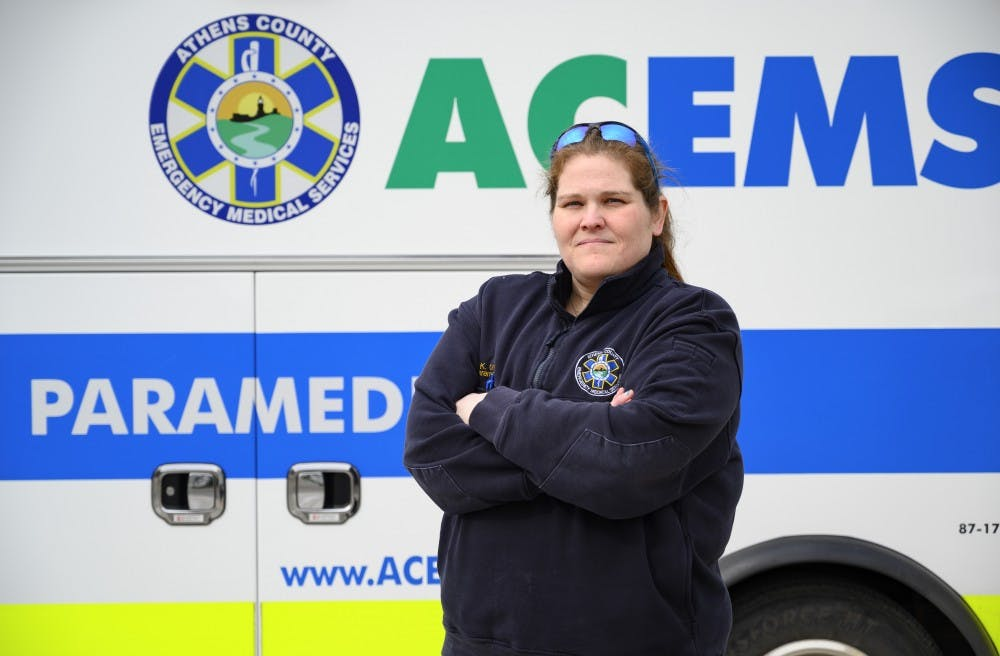 Female first responders prove they are as skilled as male counterparts