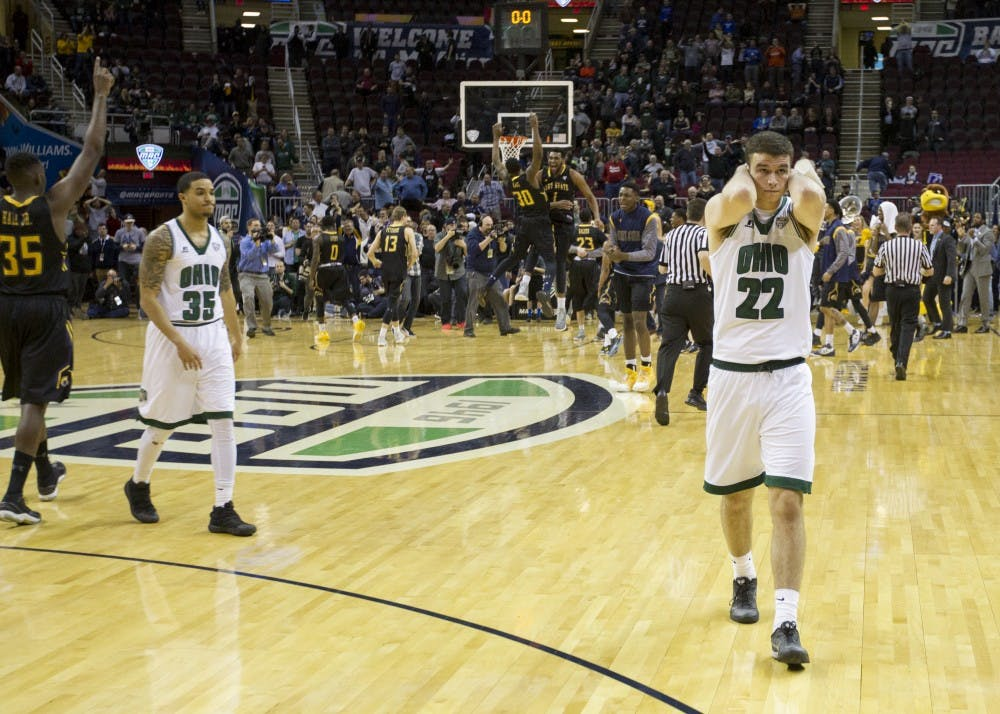 Basketball: The shot that never came: Ohio exits MAC Tournament in heartbreaking loss