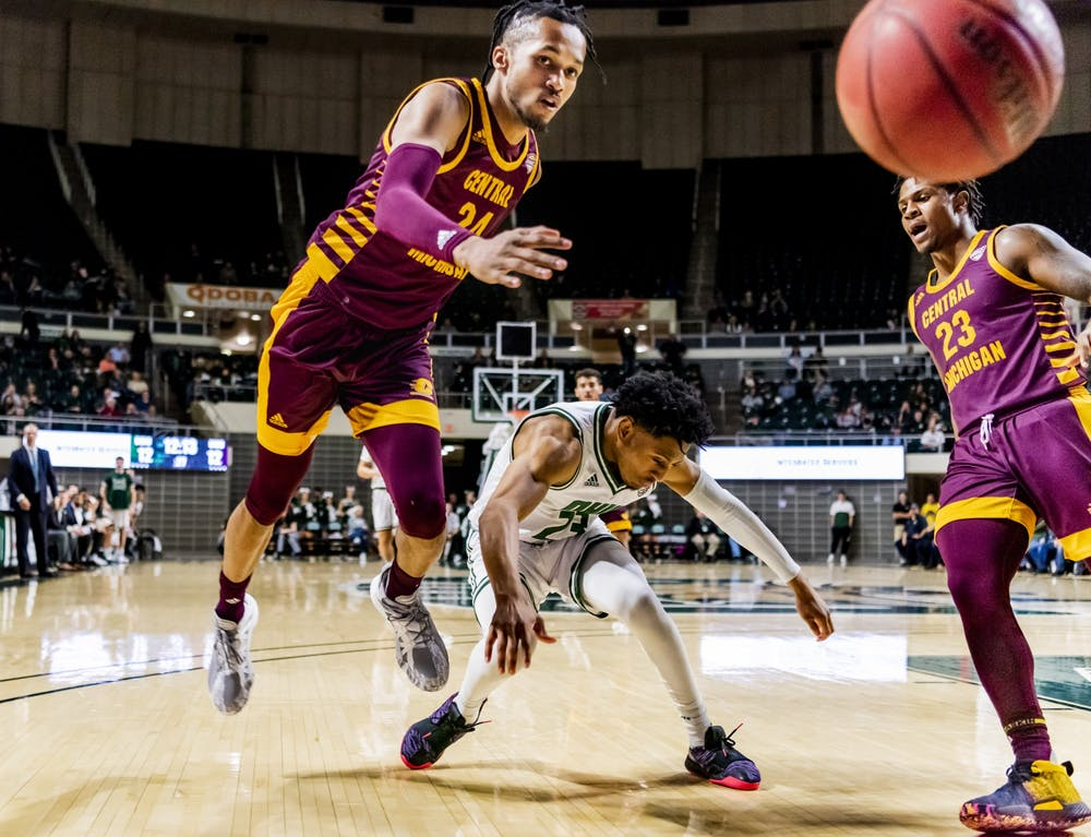 Men's Basketball: Numbers to know from Ohio's 83-69 win over Central Michigan