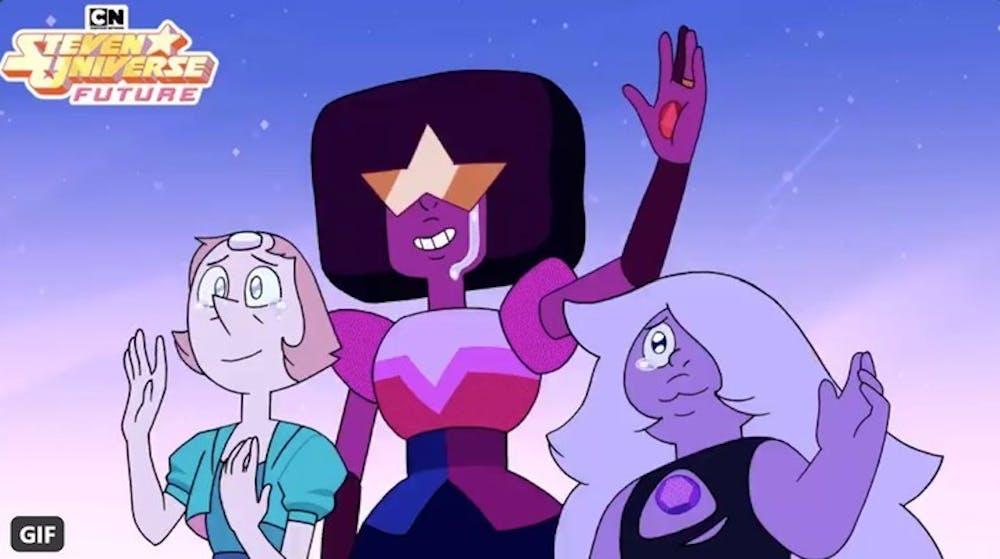 Tv Review The 4 Part Finale Of Steven Universe Future Is An