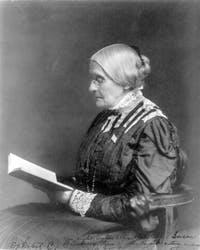 Friday is Susan B. Anthony Day. (via Wikimedia Commons)