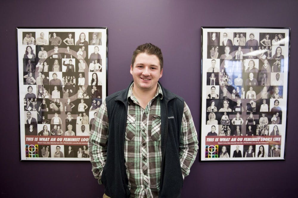 Women's Center's lone male worker inspires LGBT students