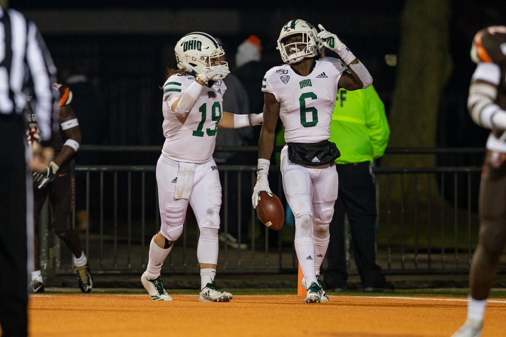 Football: Ohio's offense explodes in 66-24 win over Bowling Green