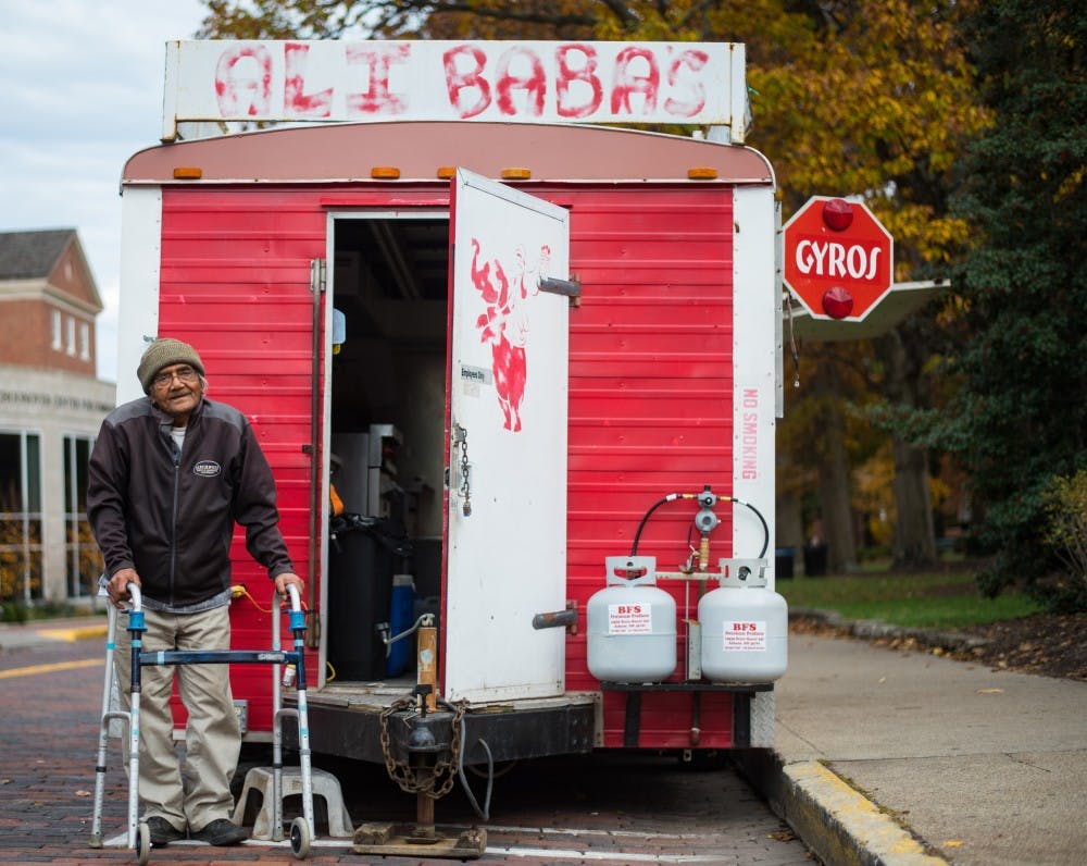 Ali Baba's food truck owner tells tale of international travels