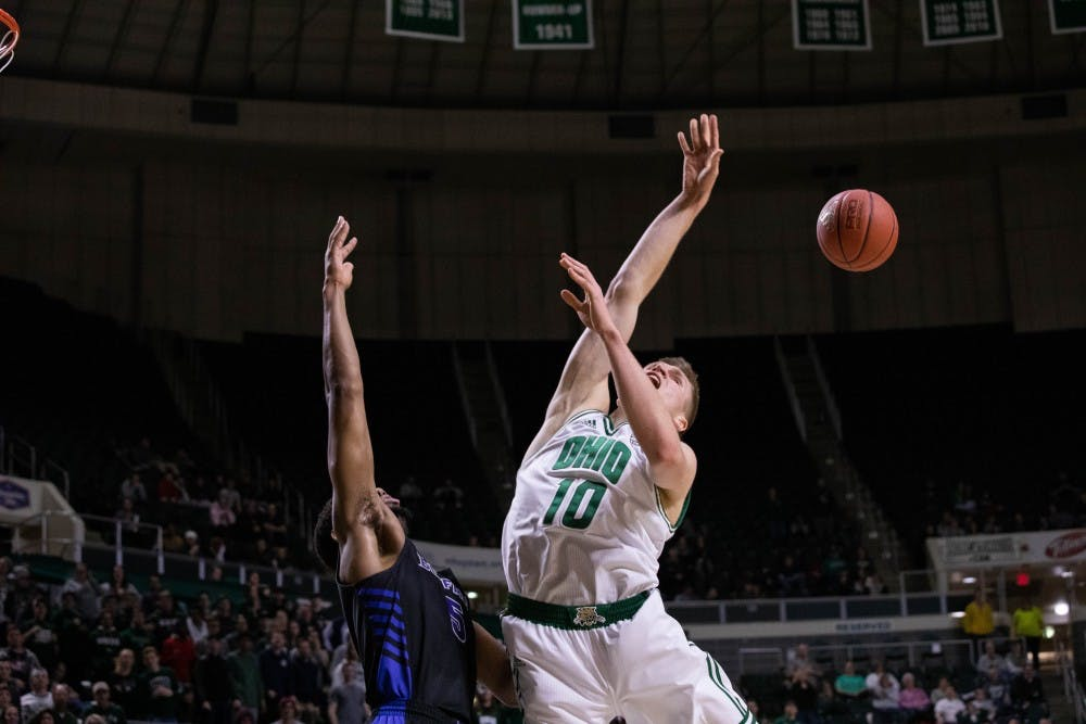 Men's Basketball: Ohio comes up just short in 82-79 loss to No. 19 Buffalo