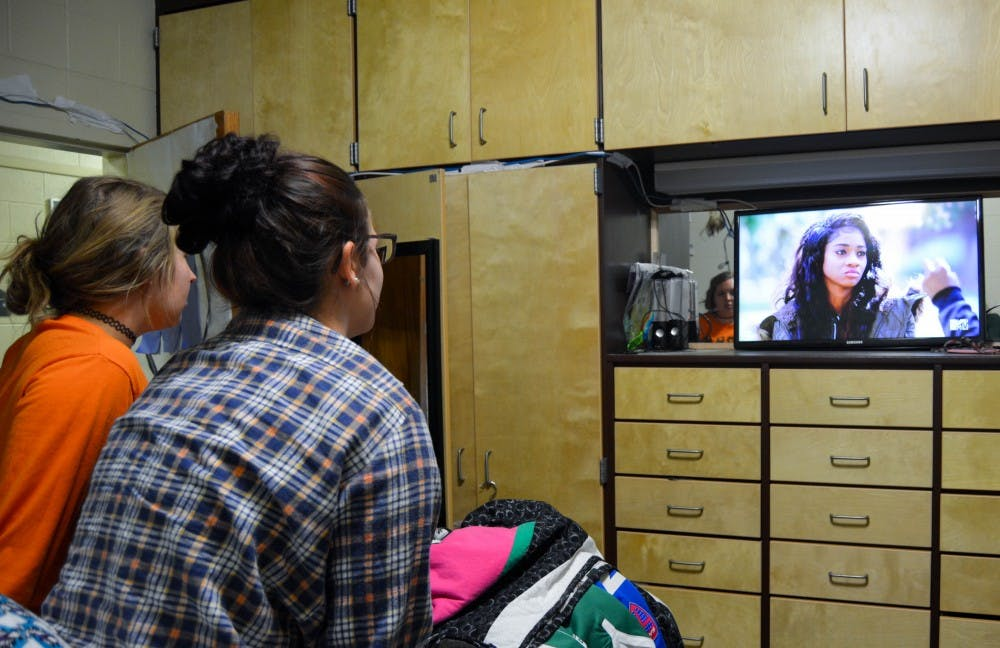 Ohio University spends about $39,000 a month on cable for students