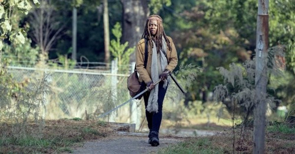 TV Review: 'The Walking Dead' revealed Michonne's chilling backstory
