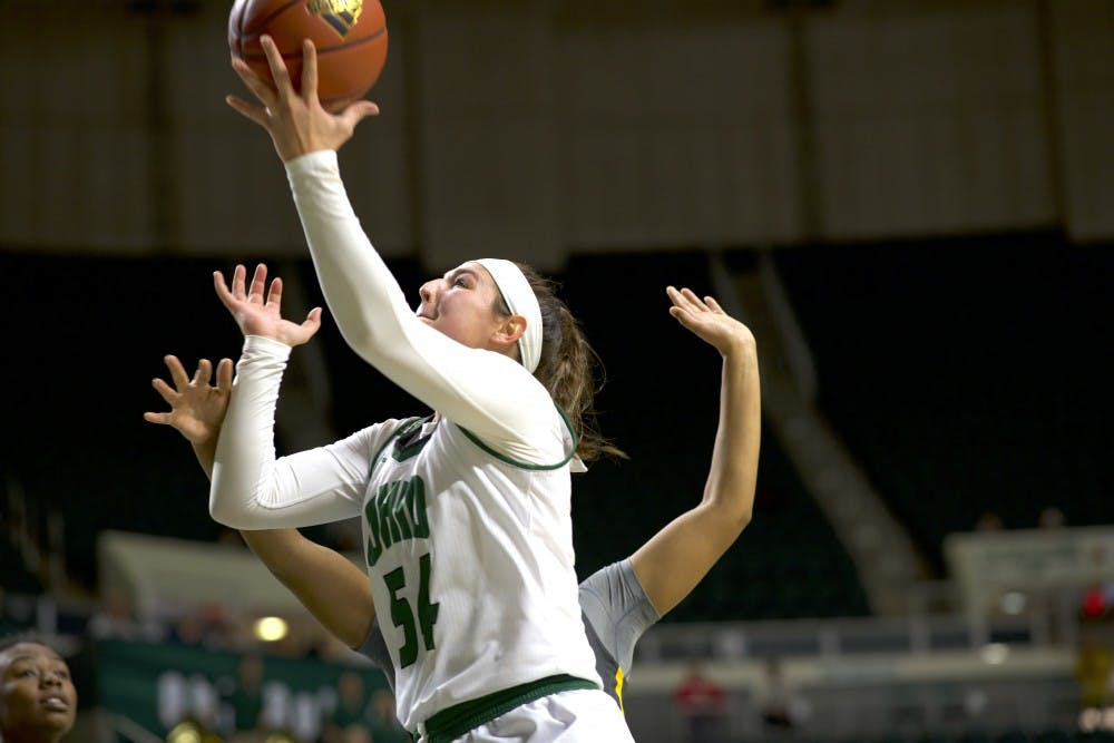 Women's Basketball: Kendall Jessing steps up amidst offensive slumps in Ohio's 87-62 win over Coppin State