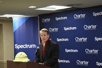 Lt. Gov. John Husted speaking at the celebration at the OU Inn