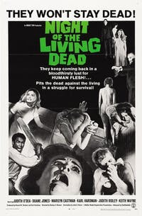 'Night of the Living Dead' was released Oct. 1, 1968. (Provided via Wikimedia Commons user PanagiotisZois)