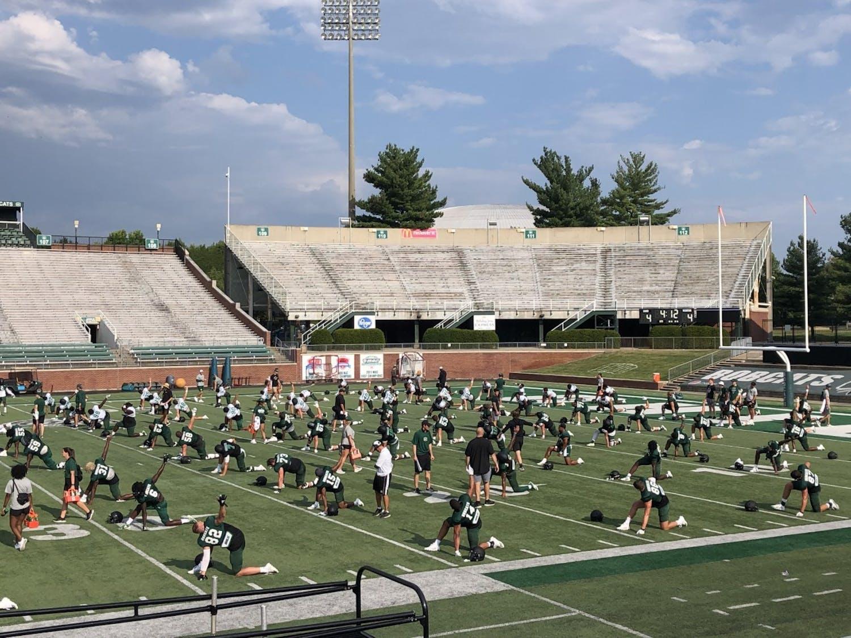Ohio fall camp sixth practice