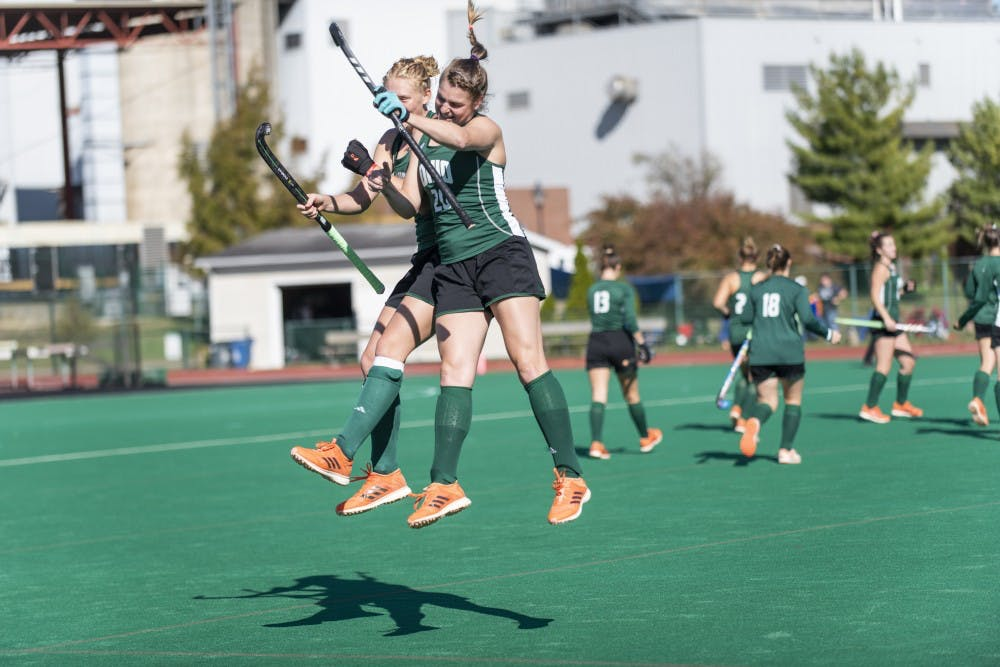 Field Hockey: Ohio clinches a winning regular season record following victory over Indiana