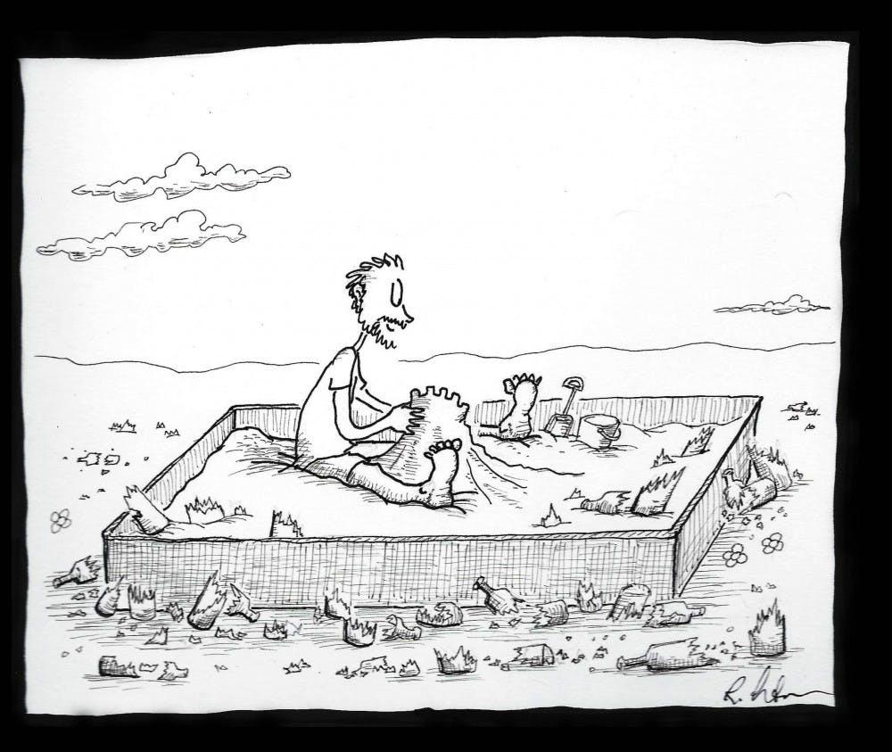 Athens cartoonist displays skills in visual storytelling