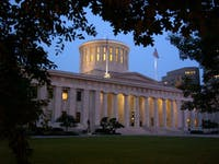 The Ohio Statehouse in Columbus. (Provided via Ohio Department of Development)